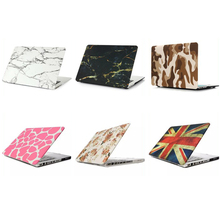 Factory direct selling leopard pattern custom PC universal hard laptop shell for macbook 15.4 pro