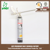 Large expansion construction PU FOAM/silicone sealant