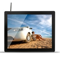 19 Inch Android Wifi LCD Touch Screen Monitor