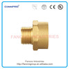 Reduced male/female connector,elbow tee reducer pipe fitting,square to round pipe fitting