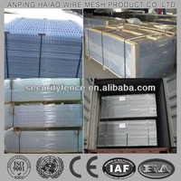 High quality galvanized welded wire mesh panel ( ISO factory )