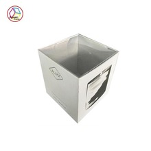 Top grade Paper Packaging Box with Plastic Lid