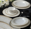 ROYAL BONE CHINA DINNER SET BY ROYAL PORCELAIN THAILAND: ORIENTAL AMARI