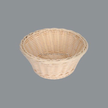 cheap colored plastic heated handicraft rattan bread basket