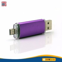 Customized made top grade special High quality otg flash usb drive 8gb with logo printing