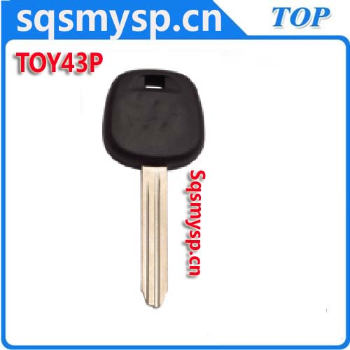D006 Plastic iron steel TOY43P Old Blank car key manufacturers in yiwu china