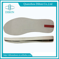 fashion men casual sole popular flaty rubber outsole