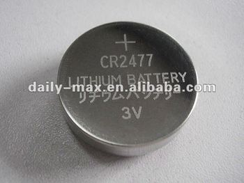 CR2477 Button Lithium Battery