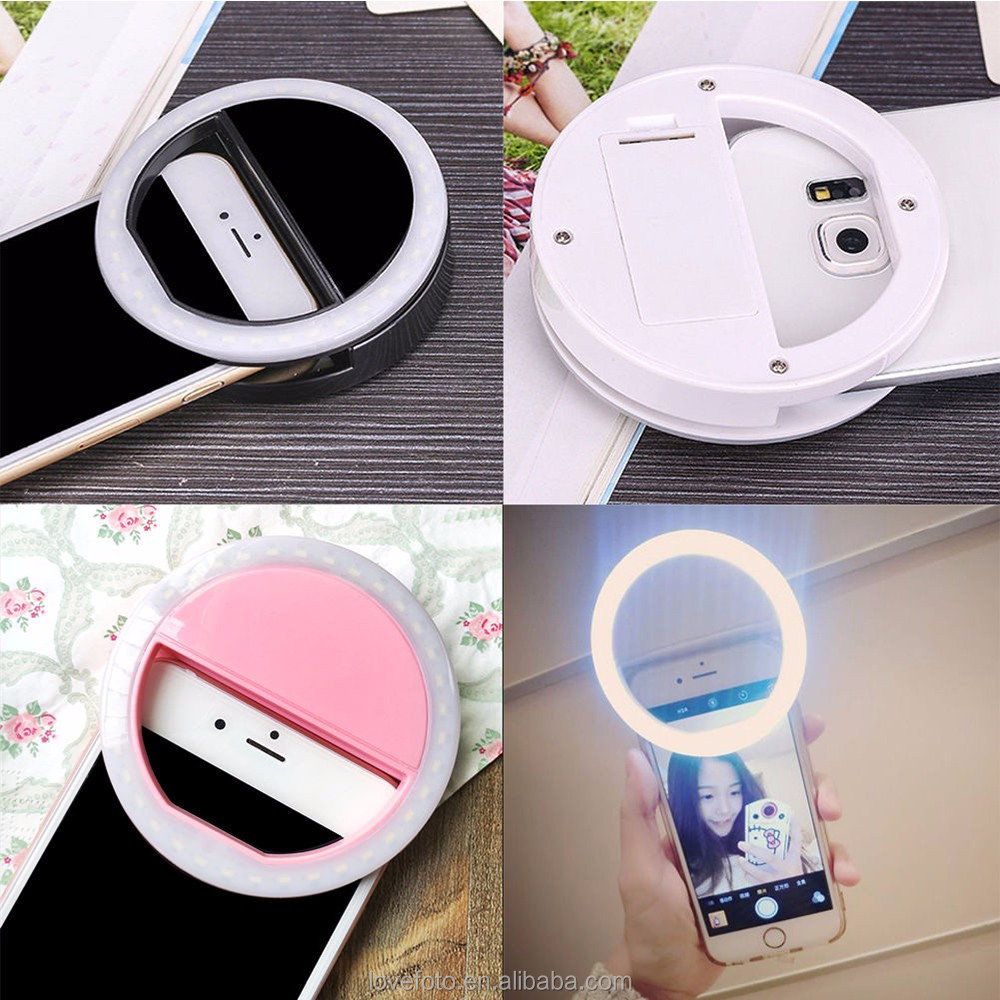 Customized Box link for Selfie Ring Light of Mobile Phone Accessories as phone Light and Gift for Party and Friend