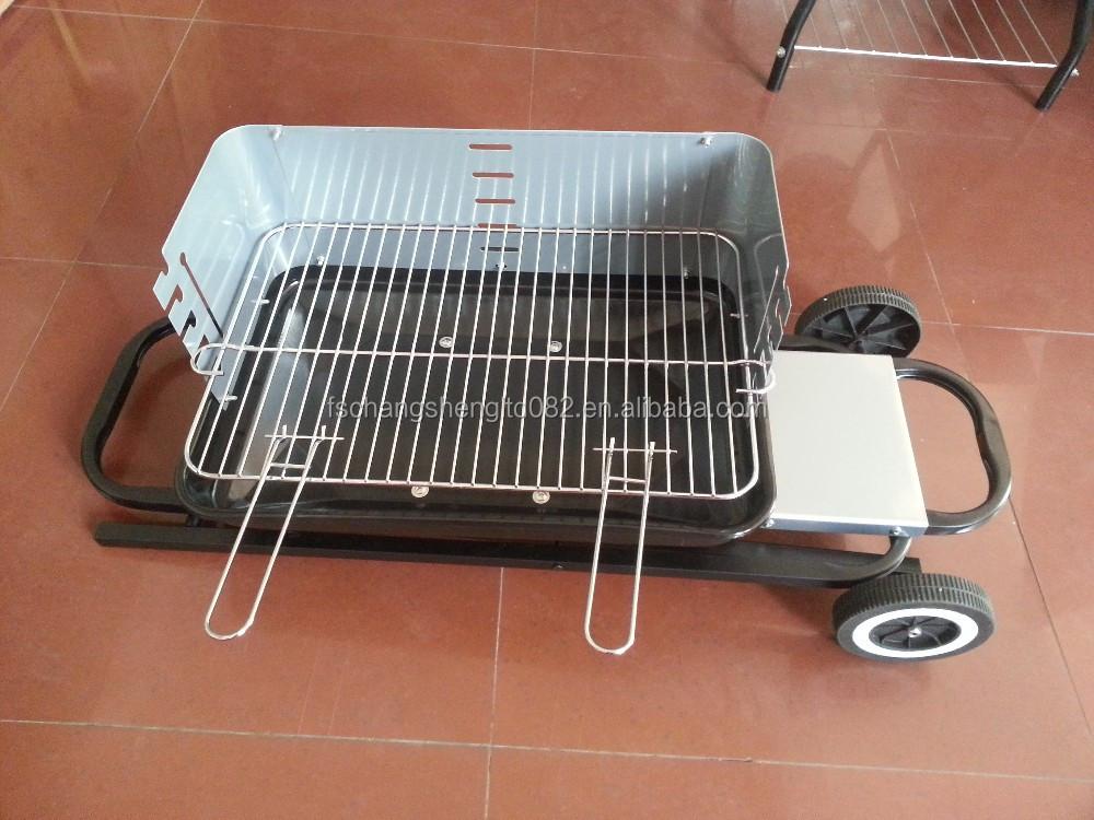 Pieghevole barbecue portatile bbq griglia da tavolo da - Griglia da cucina ...