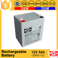 long working time rechargeable dc battery packs 24v 5ah