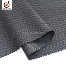 Polyester Rayon school uniforms check fabric For Suiting