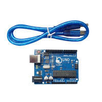 Neutral OEM Factory Development Board Microcontroller MEGA328P ATMEGA16U2 Compatible Shanhai UNO R3 With USB Cable