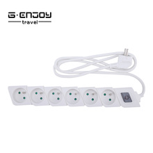 Shanghai Cimu (Genjoy )High Quality 2 pin extension socket with 3 ways