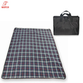 Factory direct all weather picnic blanket best outdoor blanket with waterproof nylon fabric