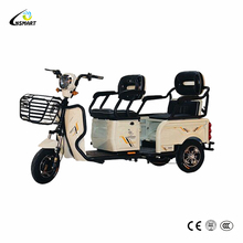 High quality cheap three wheel electric tricycle covered for sale