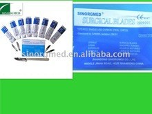 Medical supply disposable sharp point surgical blades