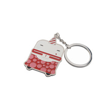 lovely toy metal keychain, celebration style keychain, keychain for toy