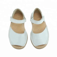 OEM Brand Genuine Leather Passing SGS Children Sandal Kids Shoes