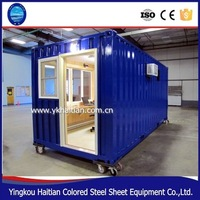 2016 pop hot sale Chinese steel structure low-cost small modular house with 2,3,4 bedrooms house