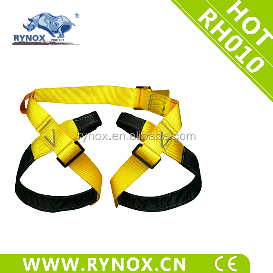 Polyester material safety belts half body safety harness for climbing