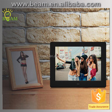 8-inch Digital Photo Frame With MP3 And Alarm Clock