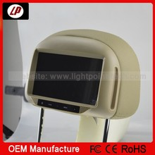 2014 new style! 7 inch headrest car dvd player with one year warranty and factory price