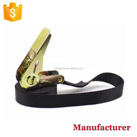 "1"" 25mm Mini Ratchet Tie Down Strap with no hooks"