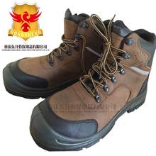6Kv Crazy Horse Leather safety Dielectric boot for work with composite toe