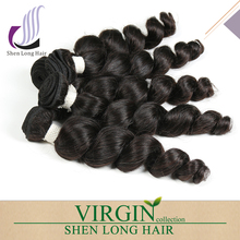 Grade 7A Brazilian Loose Wave 3pcs/lot Brazilian Loose Wave Virgin Hair Unprocessed Hair 100% Human Hair Weave Bundles