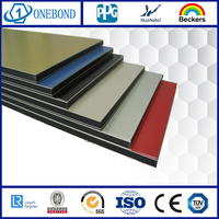 ONEBOND PDVF Aluminum Composite Panels acp sheet textures for cladding curtain wall
