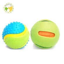 Squeaky Ball Throw Rubber Pig Dog Toys