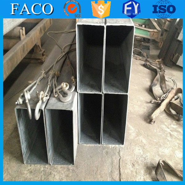 Tianjin square rectangular pipe ! ms hollow rectangular pipe scaffolding material specification