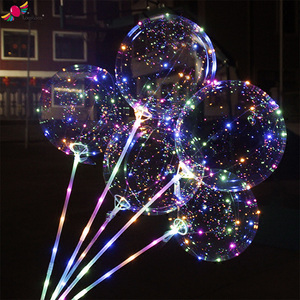 bobo balloon lights flashing led helium balloons