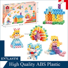 funny interlocking block building sets for girl