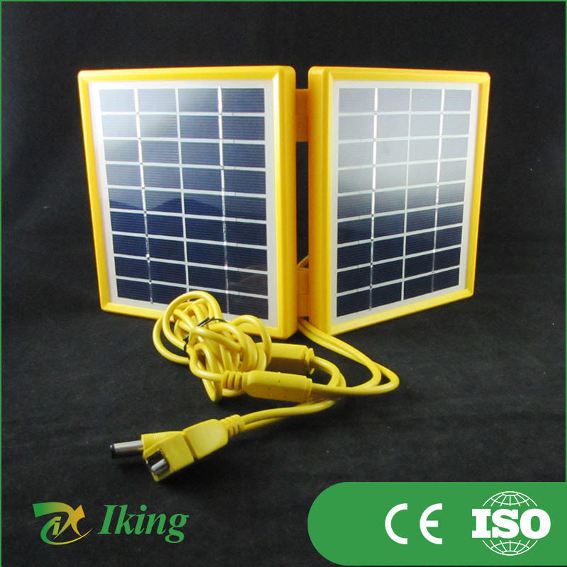 High Efficiency 3.4W 9V Poly Folding Low Price Mini Portable Solar Panel For Sale