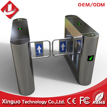 Hot! 304ss Bridge-type Swing Turnstile For Pedestrian Access Control