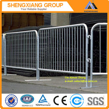 crowd control barrier/ pedestrian barriers/ galvanized crowd control barrier ( ISO9001&factory )