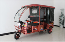 Hot sale 500W 800W 1200W Enclosed adults electric tricycle with passenger seat