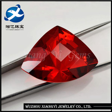 AAAAA Quality gemstones nepal China Fashionable Garnet Fan-shaped stone glass gems
