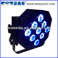 4in1 9*10W Par can led stage lighting (battery operated)