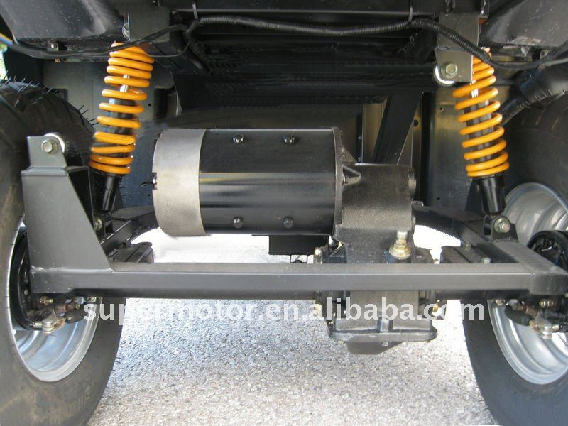 DC Traction motor system of electric car