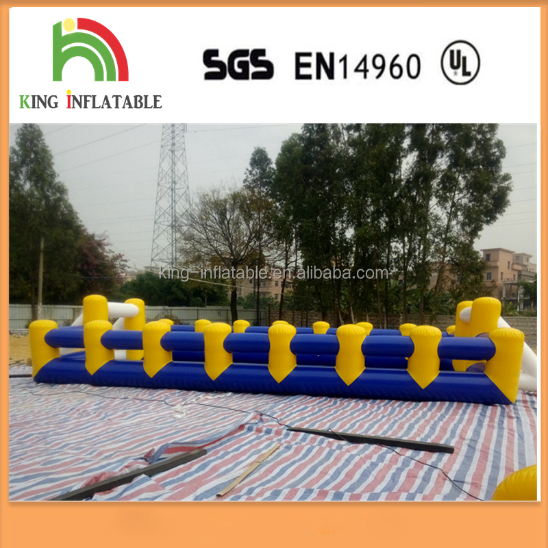 New Inflatable Human Foosball For Games Inflatable Soccer Football Field