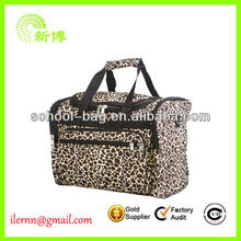 New Zebra Duffle Travel Overnight Dance Bag
