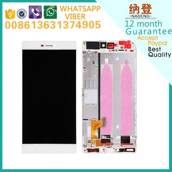 original quality replacement for Huawei P8 lcd and digitizer factory price fast delivery