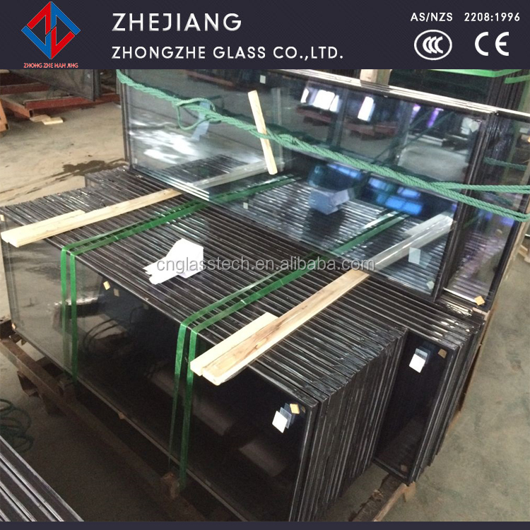 double wall glass sealed with silicone for window glass