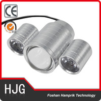 20W motorcycle headlight 12v led projector lens angel eye spot light factory made in Guangzhou