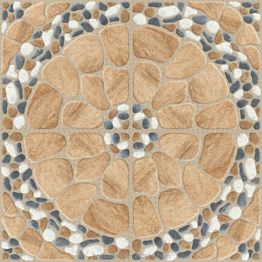 Pretty Figure Flower Ceramic Floor Tile Digital Design with Cheap Price