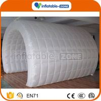 Good price party with led light inflatable tent inflatable big camp out tent for party