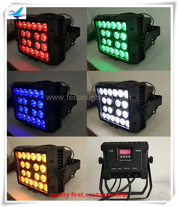 Dj wash lights led wall wash 20x18 watt stage light wash wall washer
